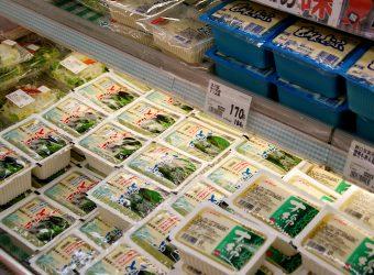 飛騨の豆腐は大人気
