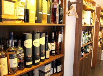 洋酒の種類が豊富