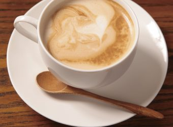 本格エスプレッソで入れるカフェラテ