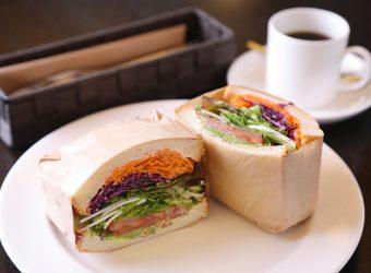 本日の野菜サンドイッチ