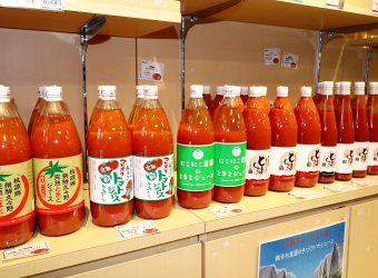 豊富な種類のトマトジュース